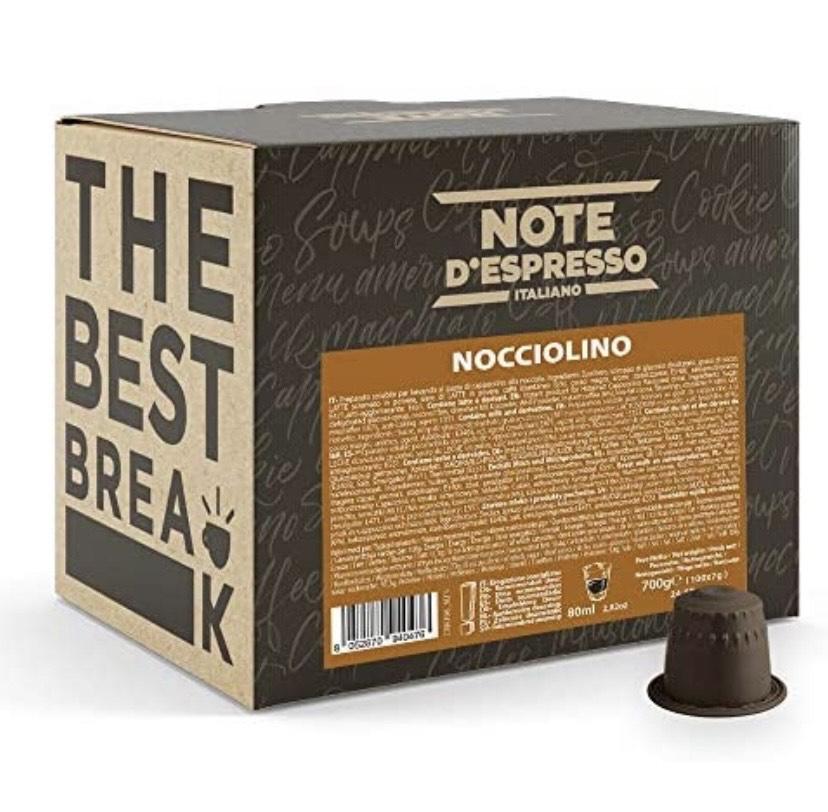 Note d'Espresso Italiano - 100 Cápsulas