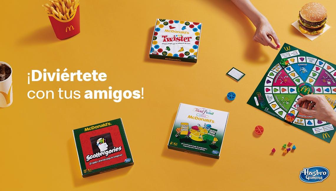 Juegos de mesa con tu McMenú por 1€+!!!