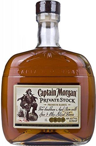 Captain Morgan Private Stock - Ron especiado premium, 1l