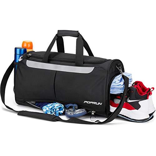 Bolsa de Deporte con Compartimento para Zapatos y Bolsillo húmedo