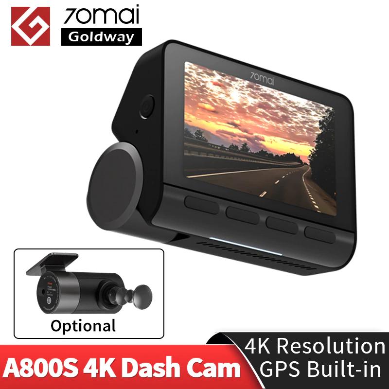 70mai A800S 4K dash camera