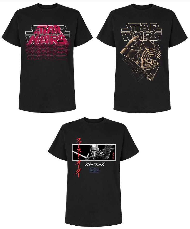Camisetas Star Wars (Muchas tallas disponibles) por sólo 6,95€