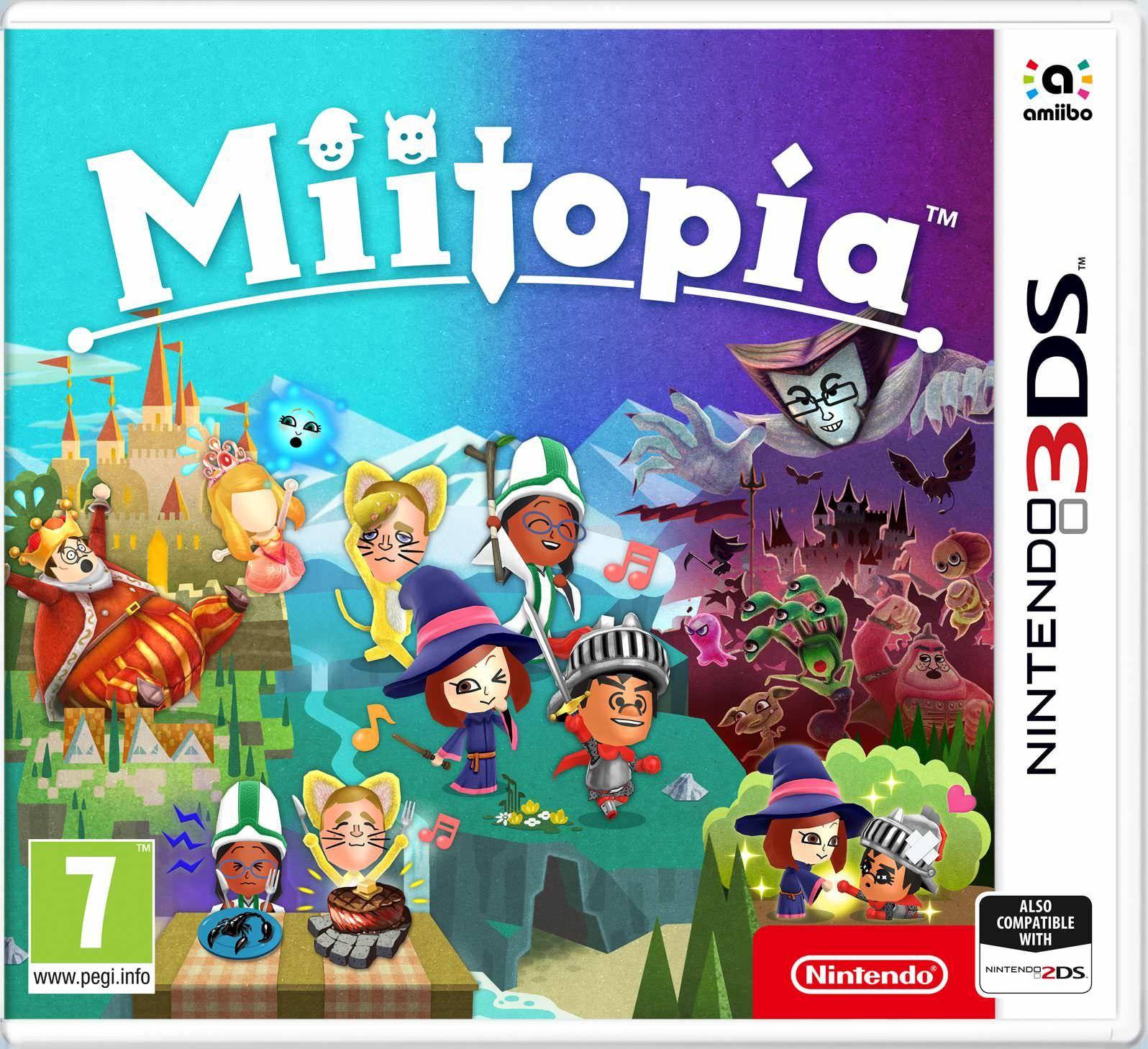 Miitopia Para Nintendo 3ds [40€ Menos que en Switch]