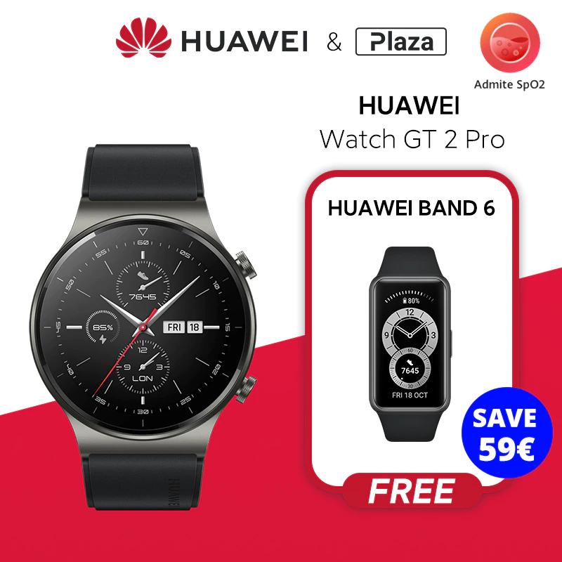 Pack Huawei Watch GT 2 PRO 46mm + Huawei Band 6