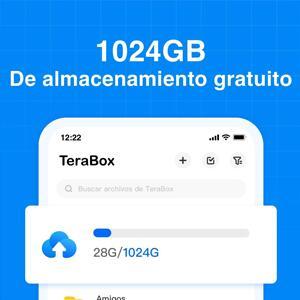 1 TB GRATIS de por vida con TeraBox