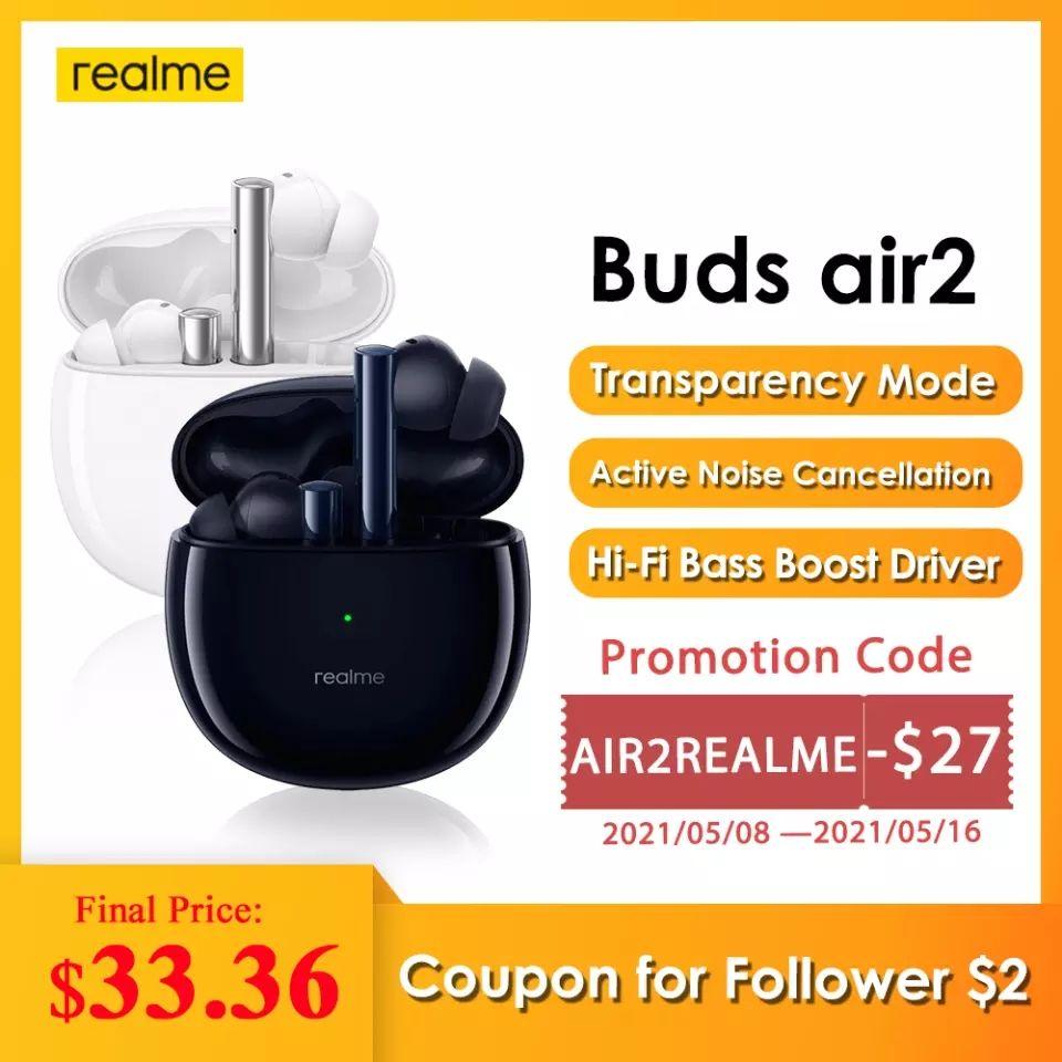 Realme Buds Air 2 IPX5 HiFi