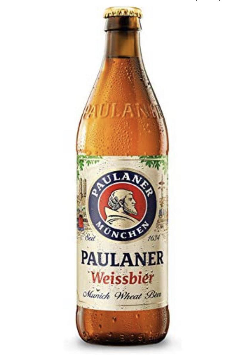 Cerveza trigo Paulaner 0,5 litros