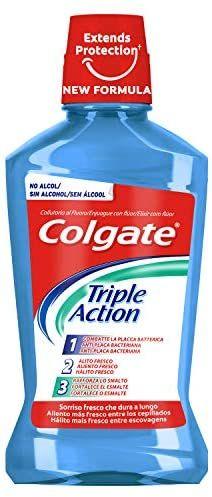 Colgate - Triple Action - Enjuague bucal - 500 ml (3x2)