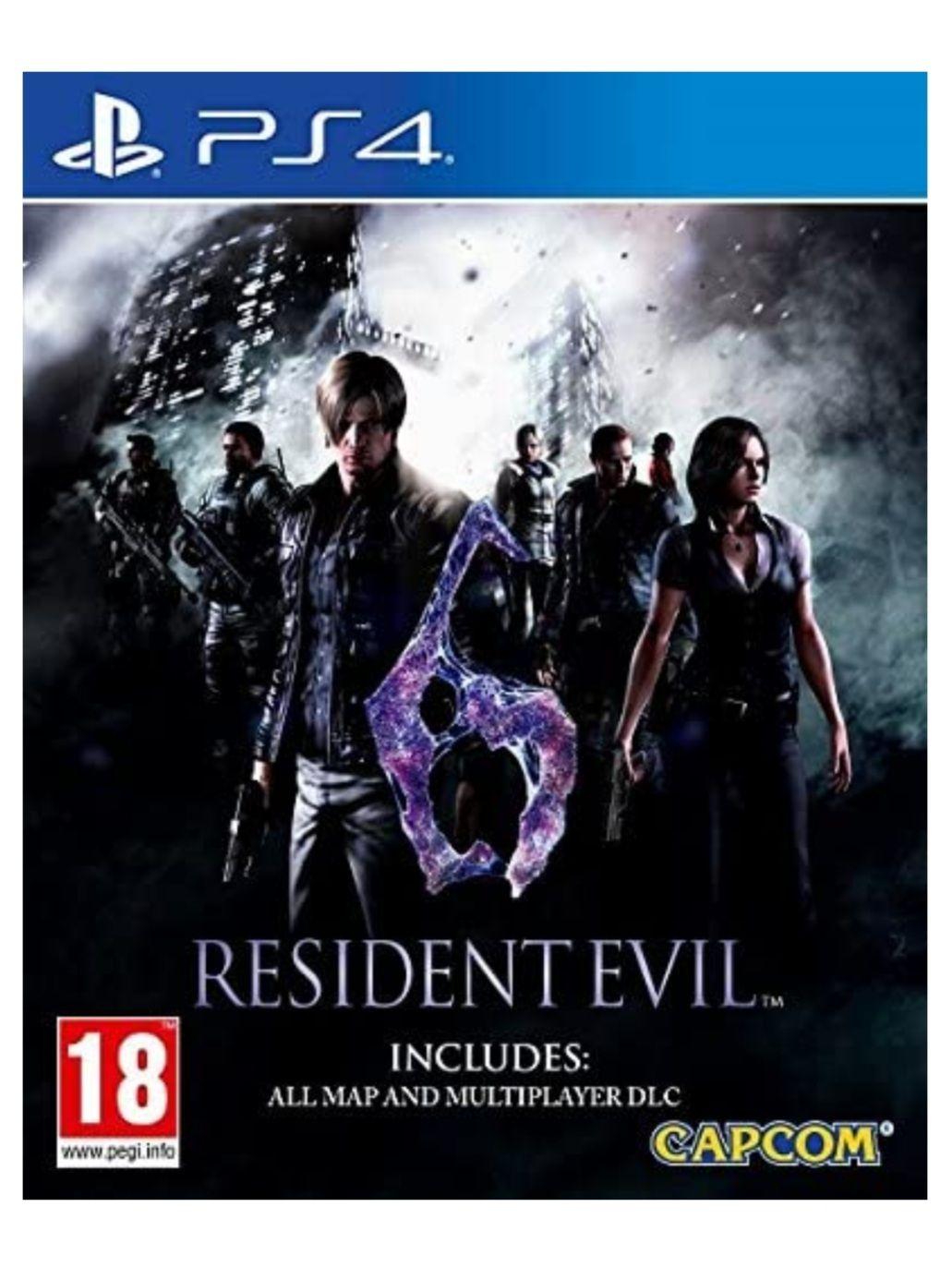 Resident Evil 6 HD (PS4)