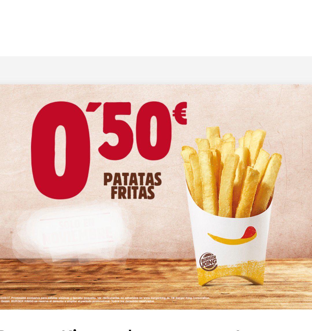 PATATAS PEQUEÑAS 0.50€