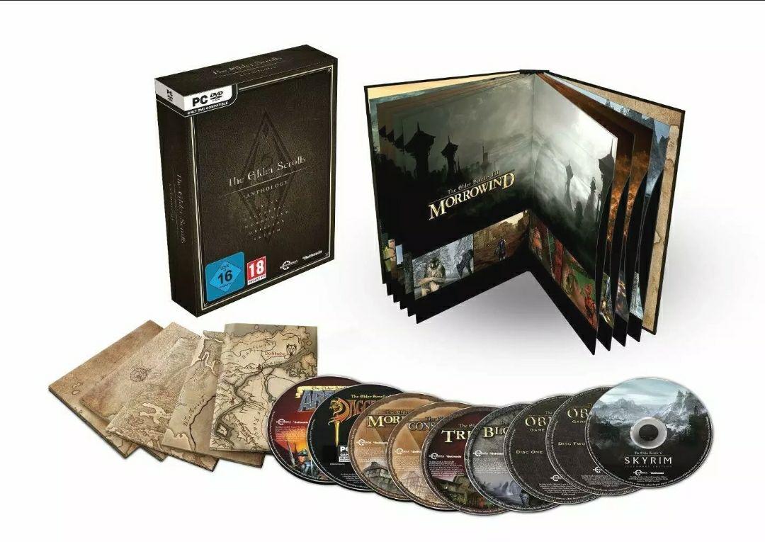 The Elder Scrolls: Anthology (coleccionista)