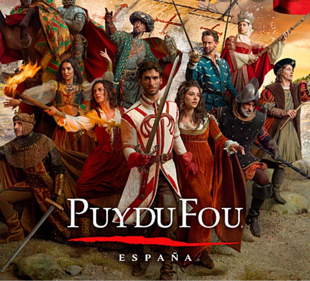 Puy du Fou España el parque de Toledo desde Solo 54€ (1dia de entrada)+ aperitivos + 1 noche de Hotel 3* (PxPm2)(Junio- Septiembre)