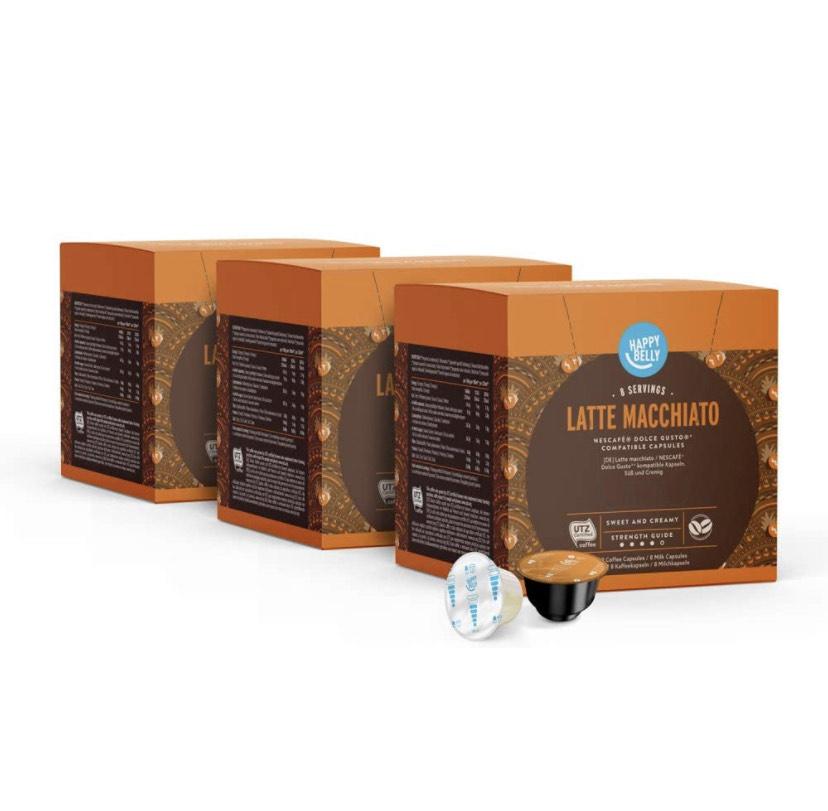 3 cajas de Latte Macchiato