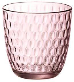 6 vasos Bormioli Rocco ,rosa