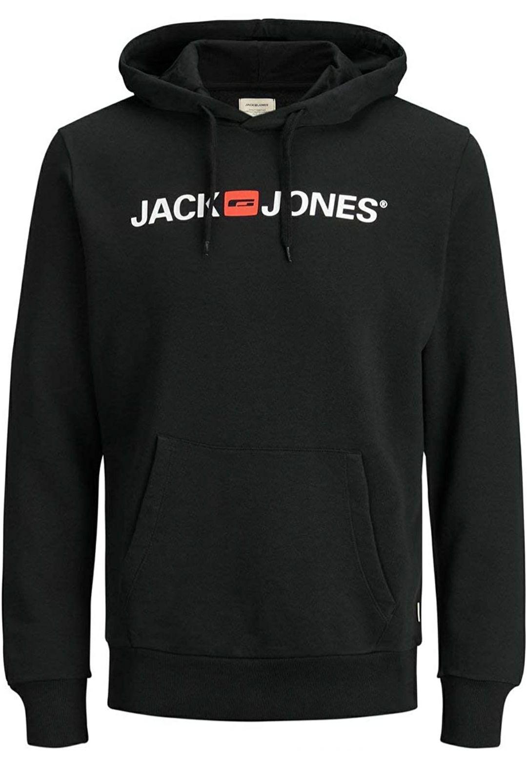 Sudadera con capucha Jack & Jones negra o gris