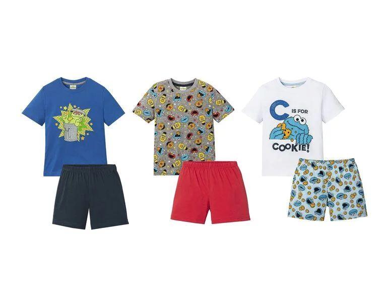 Pijama de verano infantil Barrio Sésamo
