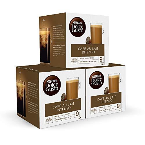 48 cápsulas Nescafé DOLCE GUSTO CAFÉ CON LECHE INTENSO (Compra recurrente)
