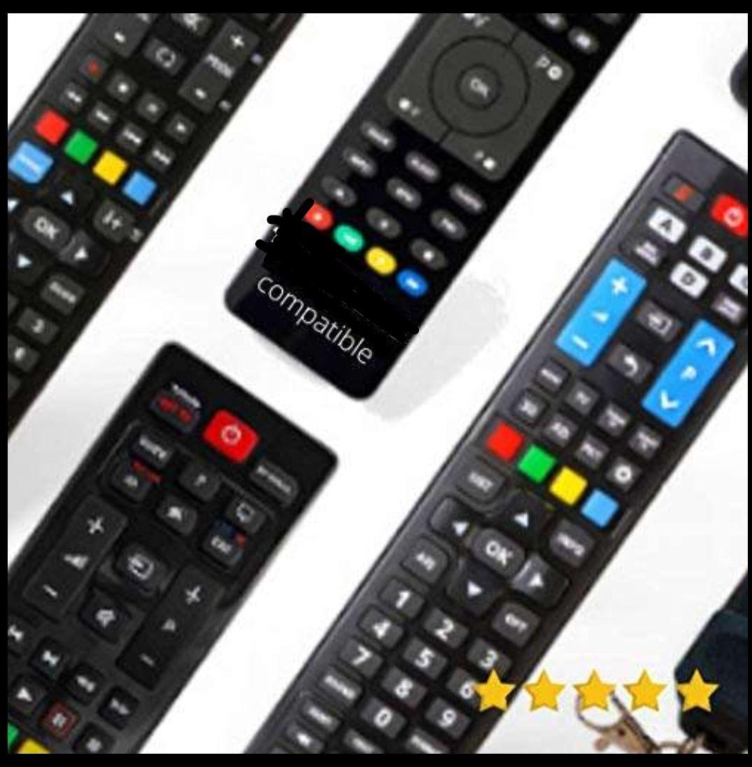 Selección de mandos a distancia universales para diferentes marcas por menos de 4 euros