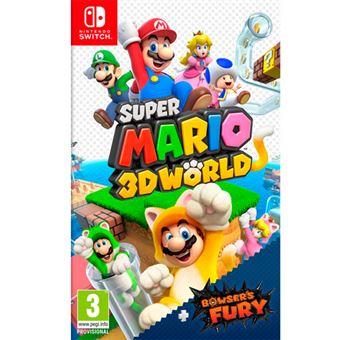 Super Mario 3D World Switch por solo 37,49€ (socios) (39,99€ no socios)