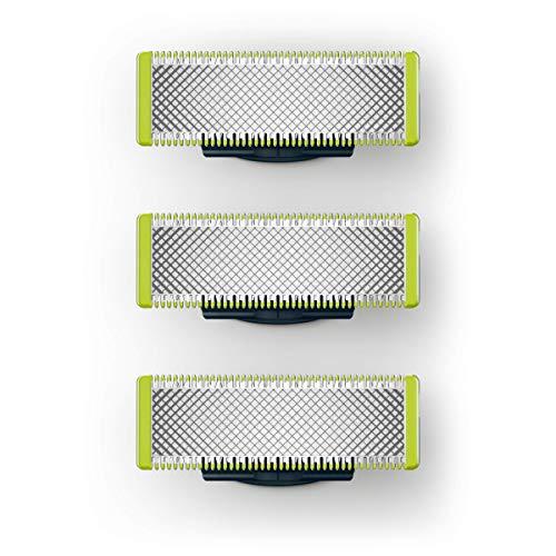 Philips OneBlade QP230/50 - Pack con 3 cuchillas de recambio [compra recurrente]