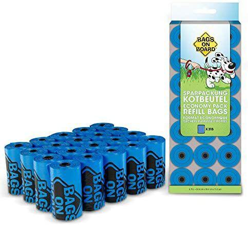 315 Bolsas para excrementos de perros