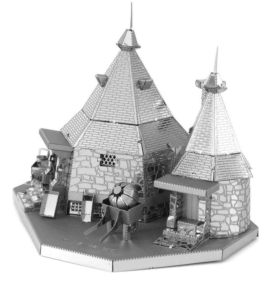 Puzzle 3D metálico Maqueta Cabaña De Hagrid Harry Potter por sólo 2€