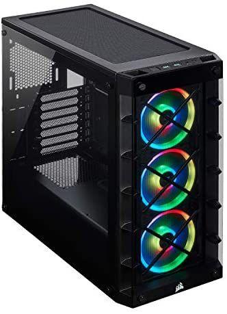 Caja ordenador Corsair iCUE 465X RGB Cristal Templado