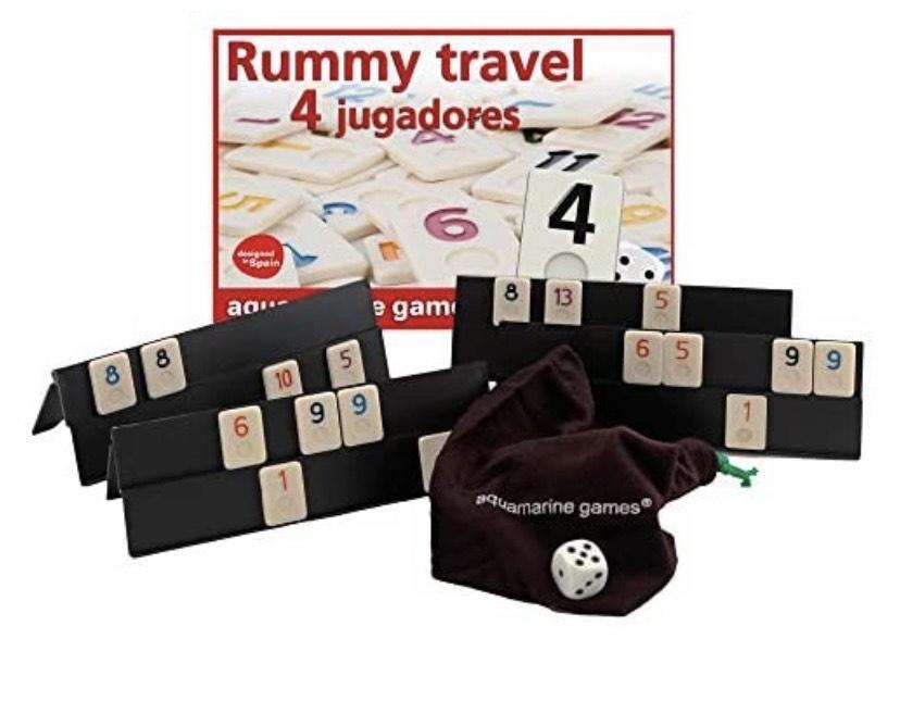 Rummy De Viaje 4 Jugadores