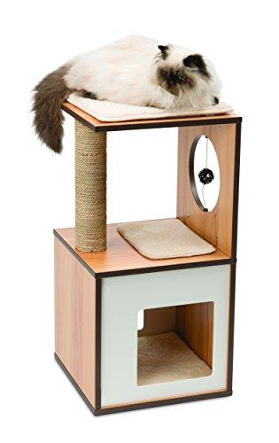 Rascador para gatos V-BOX