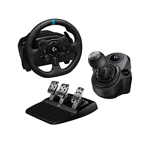 Logitech G volante G923 + shifter por 285,99 euros