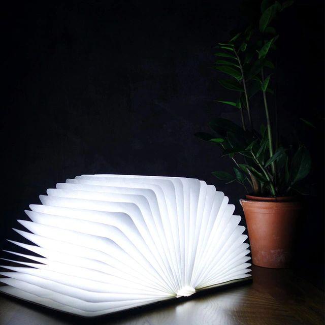 Libro Lámpara LED Gingko Pequeño