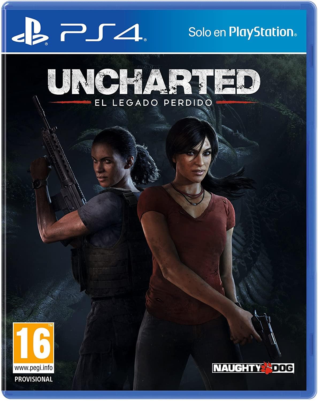 Uncharted: El Legado Perdido por solo 4€ (Recogida en tienda Fnac)