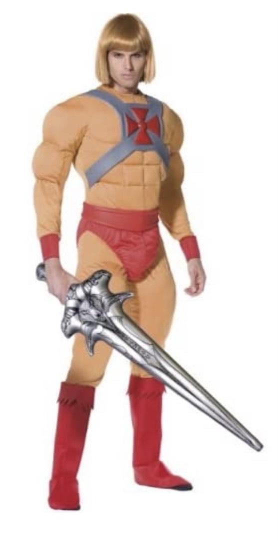 Smiffy's - Disfraz de He - Man para hombre, talla M