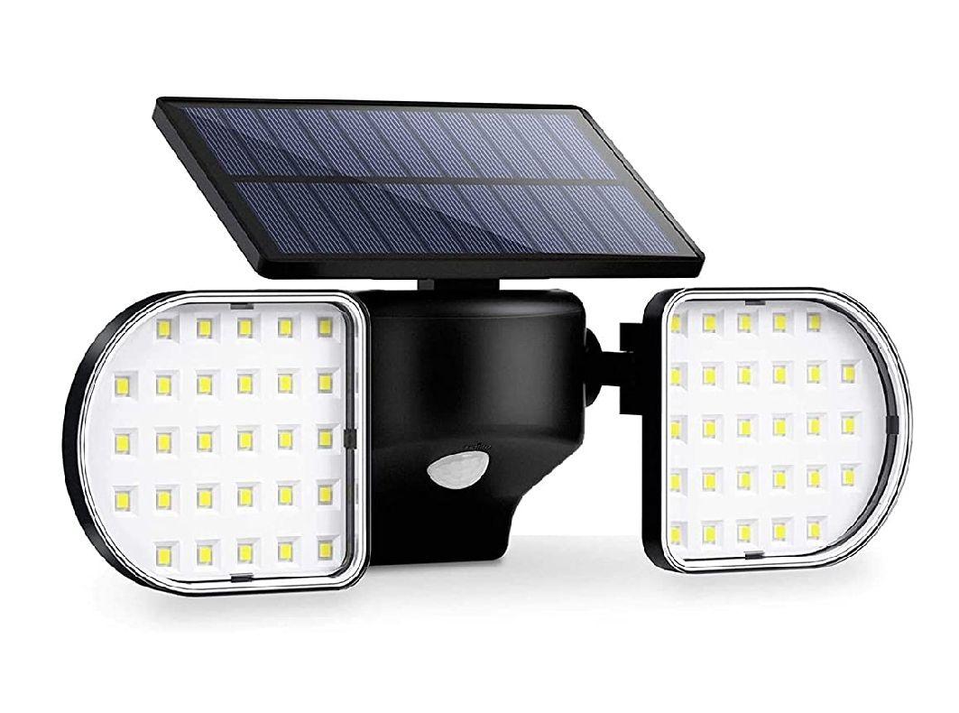 Luz Solar Exterior 56 LED