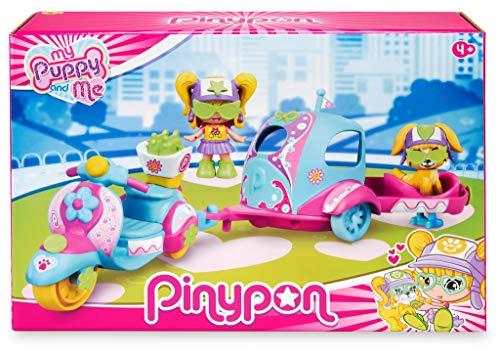 Pinypon. My Puppy and Me. Moto, Remolque y Figuras