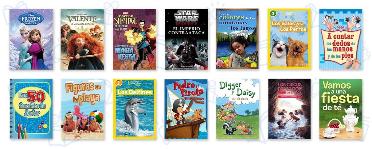 1 mes gratis de ReadingIQ (e-books en español para niños de 2 a 12 años)