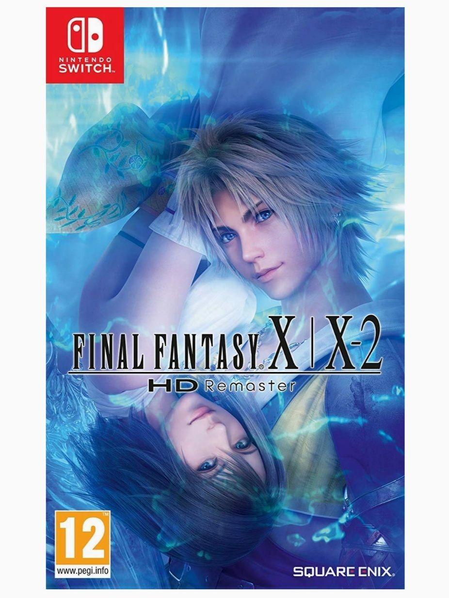 Final Fantasy X y X-2 HD Remaster (Switch)