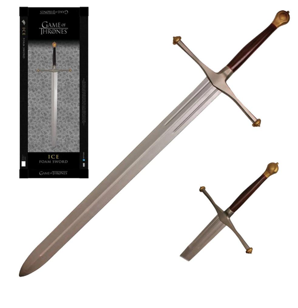 Espada Hielo de Ned Stark - Replica tamaño original de 134,5 cm en Foam - Juego de Tronos