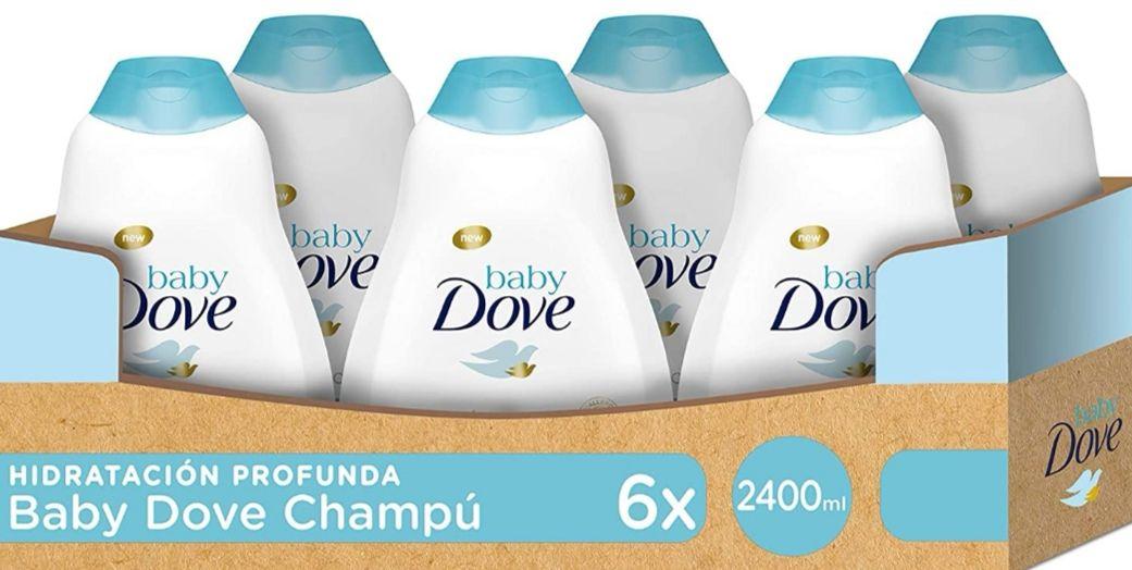 [Pack de 6 x 400ml] Baby Dove Champú Hipoalergénico Hidratación Profunda [+ en descripción]