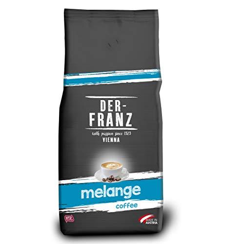 Der-Franz - Café Melange en grano 1Kg con certificación UTZ