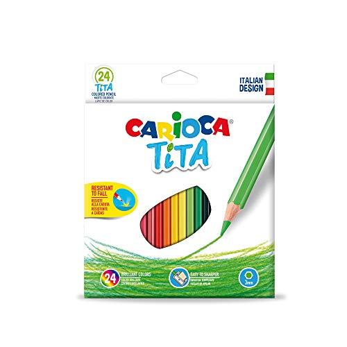 Carioca - Pack de 24 lápices de colores
