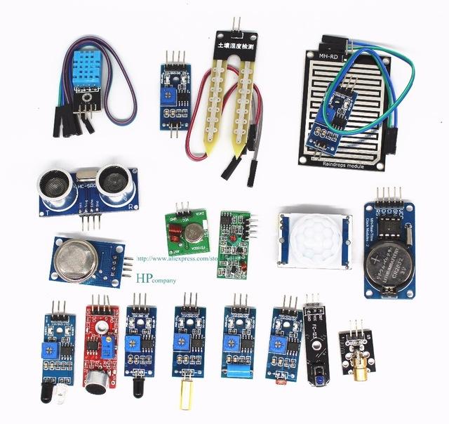 Pack 16 sensores para Raspberry Pi 3/Raspberry Pi 2 Modelo B