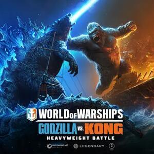 World Of Warships Godzilla vs. Kong Starter Pack [PC]