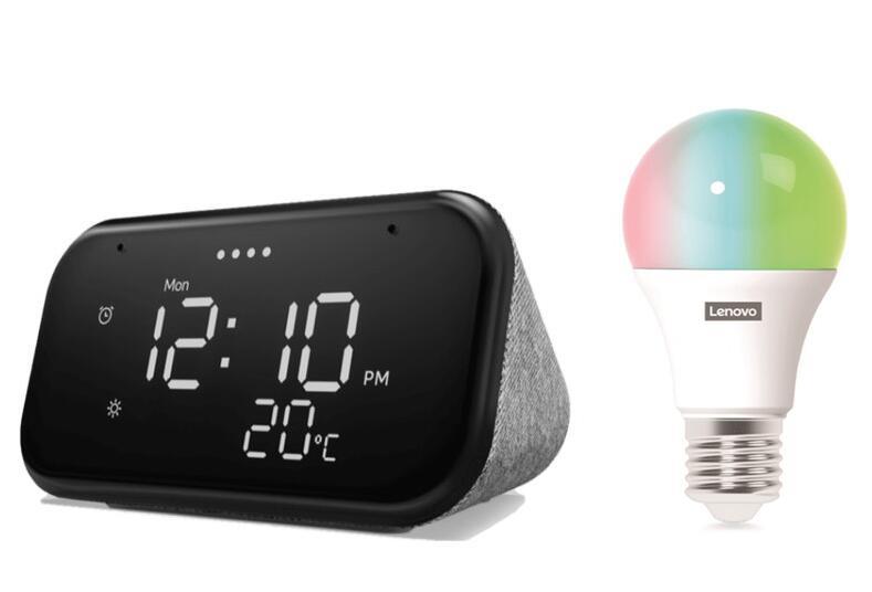 Lenovo Smart Clock Essential + bombilla RGB por solo 34,99€