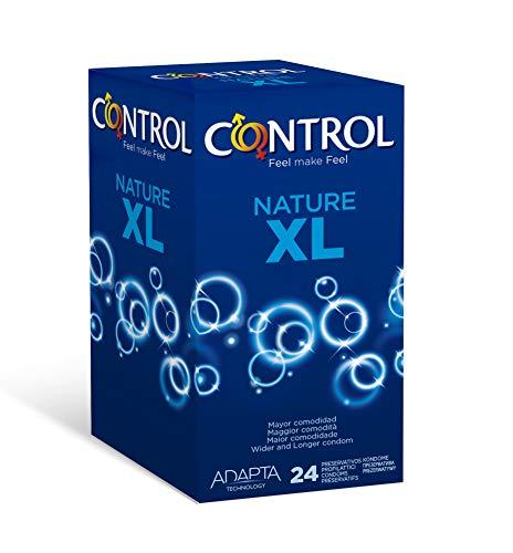 24 Preservativos XL Control Nature