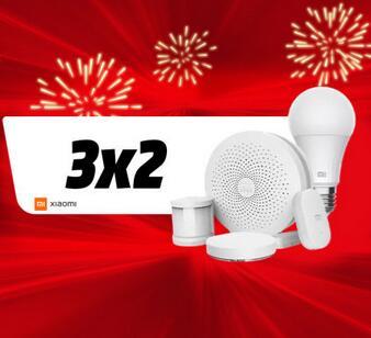 3x2 Smarthome Xioami (ENLACE DESCRIPCIÓN) (3 Xiaomi Yeelight Smart Light por 59,98 €)