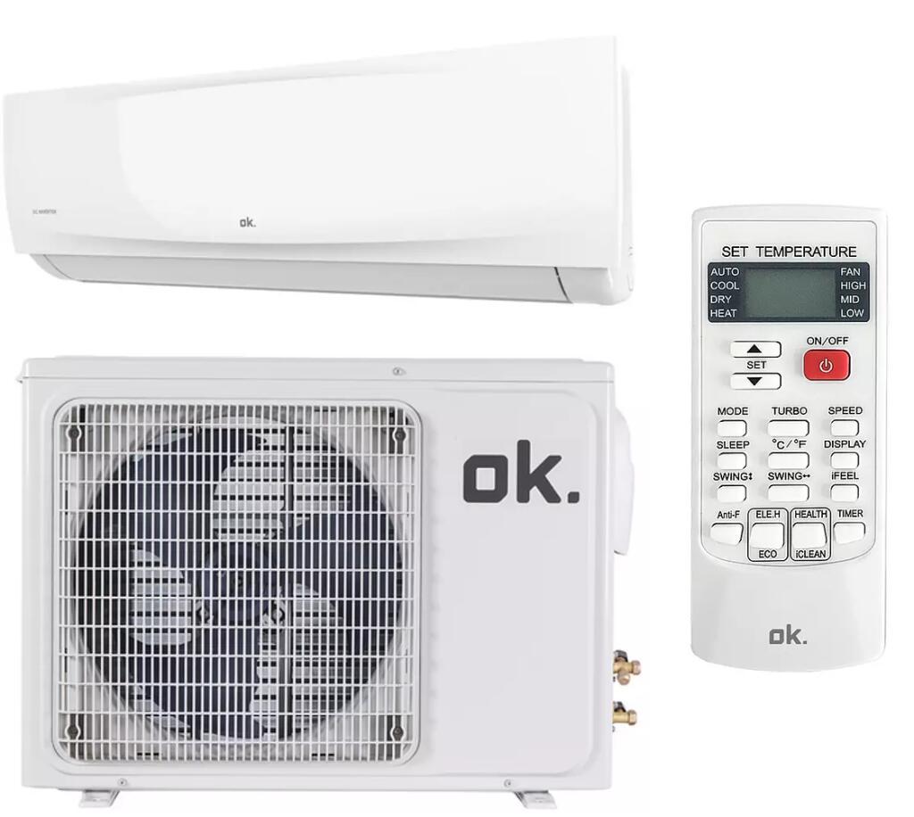 Aire acondicionado Split inverter OK 2250 fg/h // 3000 frigorías por 219€