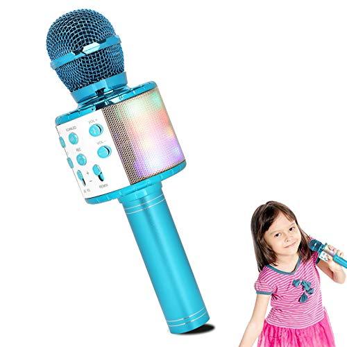 Micrófono LED inalámbrico solo 7€