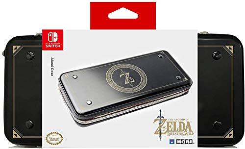 Hori - Funda Aluminio Zelda para Switch