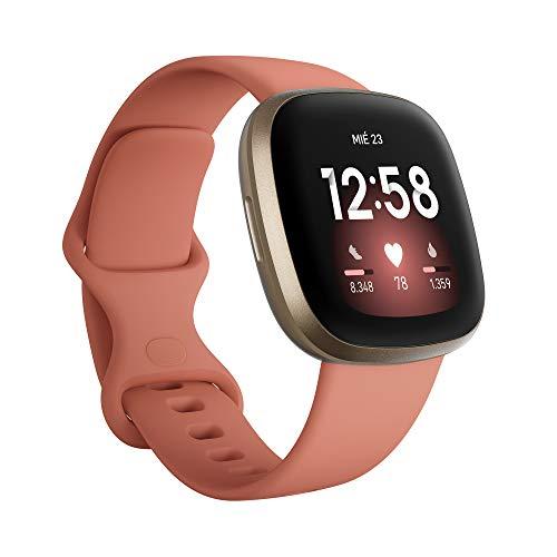 Smartwatch Fitbit Versa 3 - Amazon y Mediamarkt